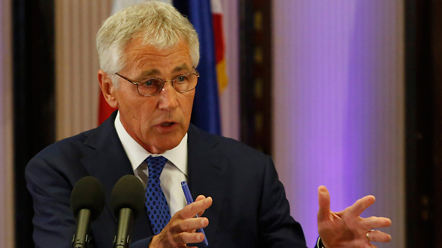 Hagel says US respects UK decision (Photo: EPA)