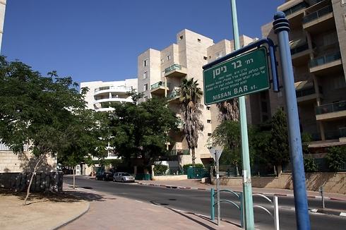 רחוב בר ניסן בבאר שבע. 690 אלף שקל ל-3 חדרים (צילום: רועי עידן)