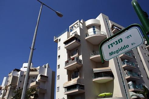 רחוב מגידו באשקלון. 682 אלף שקל ל-3 חדרים (צילום: רועי עידן)