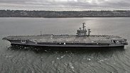 US Nimitz-class carrier, archive Photo: AFP
