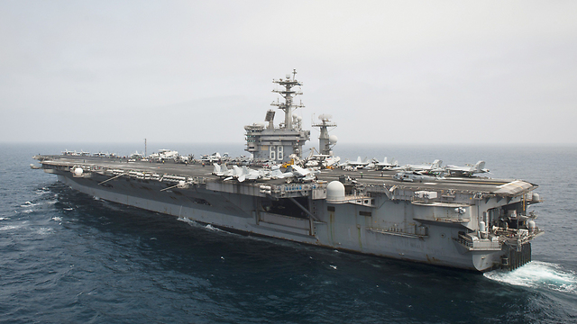 The original American Nimitz-class carrier (Photo: AFP)