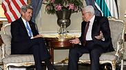 Kerry and Abbas Photo: AP