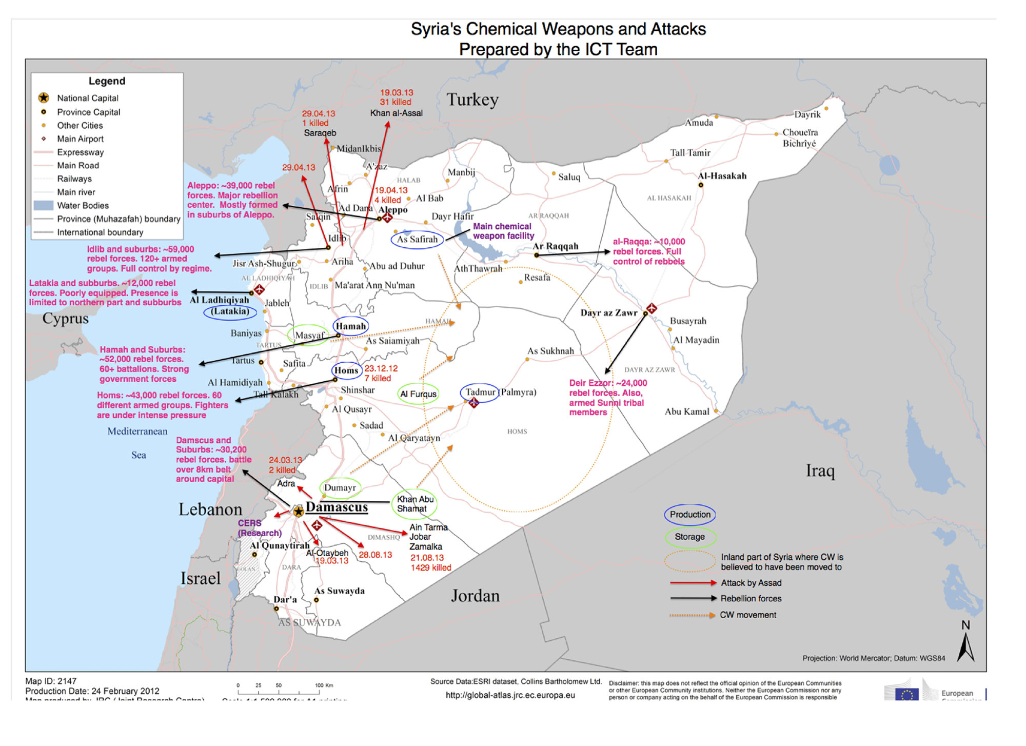 Israeli report maps Assad's chemical nal on science map, emotional map, research map, cement map, organic map, tobacco map, metal map, chemistry mind map, chemistry concept map, biological map, marine map, electricity map, government map, sound map, magnetic map, biology map, media map,