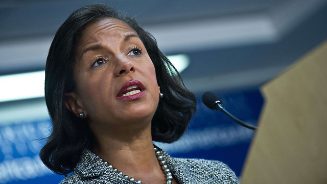 Susan Rice reassured Israel that the US will be tough in Iran negotiations (Photo: AFP)