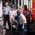 Evacuating the wounded Photo: Motti Kimchi
