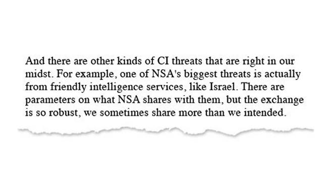 מתוך מזכר ההבנות בין ה-NSA ל-8200 ()