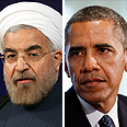 Rohani, Obama Photos: Reuters, AFP