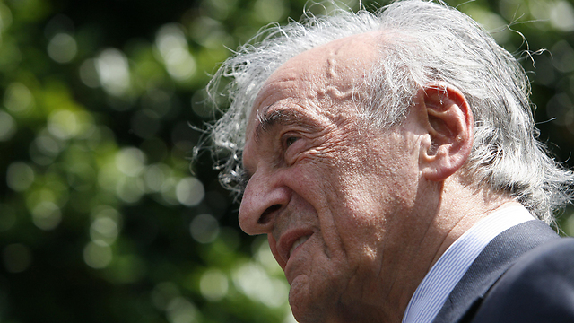 Book starts with a prologue by Nobel Peace Prize winner and Holocaust survivor Elie Wiesel (Photo: AP)