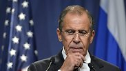 Russian Foreign Ministry Lavrov. Worried. Photo: AP