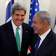 Kerry (L) and Netanyahu Photo: Reuters