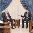 Ryabkov, Assad Photo: Reuters