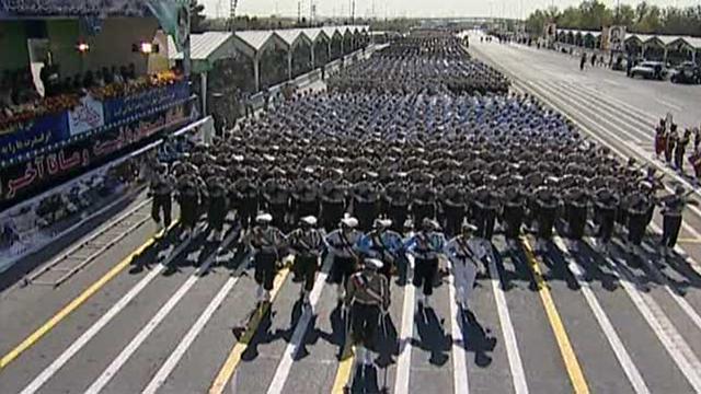 Iran's Revolutionary Guards (Archives)