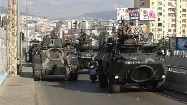 Army entering Dahiyeh