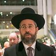 Ashkenazi Chief Rabbi David Lau Photo: Ohad Zwigenberg