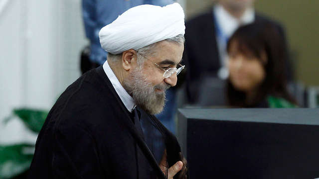 Iranian President Rohani. 'Smile offensive' initiator in Gulf too (Photo: Reuters)