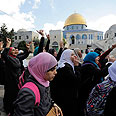 Temple Mount, today Photo: Reuters