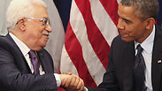 US President Obama and PA President Abbas. Photo: MCT