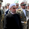 Rohani in Tehran Photo: AFP