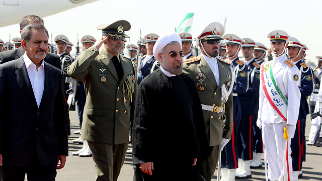 Is a slow down in Iranian nuclear activity a signal from President Rouhani? (Photo: AFP) (Photo: AFP)