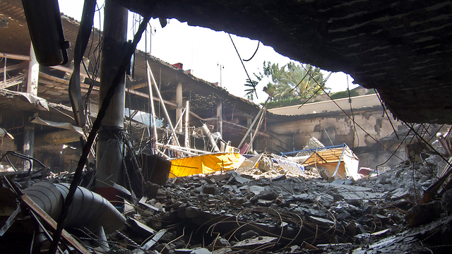 Wreckage at Nairobi mall (Photo: AP)