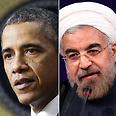Obama, Rohani Photo: AP