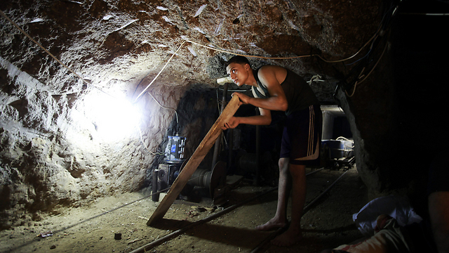 Gaza tunnels (Photo: AP)