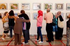 Palestinian women in TA Photo: Lihi Avidan