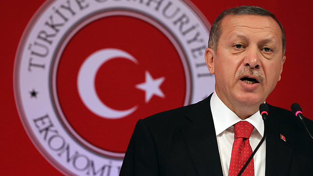 Common interest against National Kurdish Movement. Turkey's Erdogan