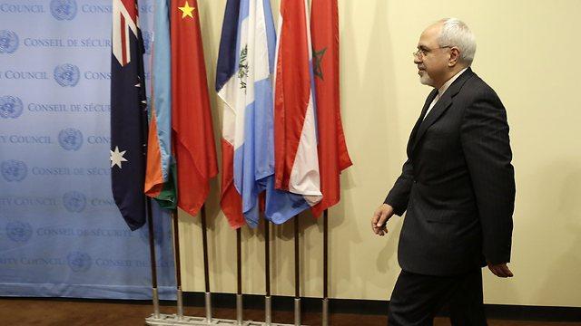 Mohammad Javad Zarif in Geneva (Photo: EPA)