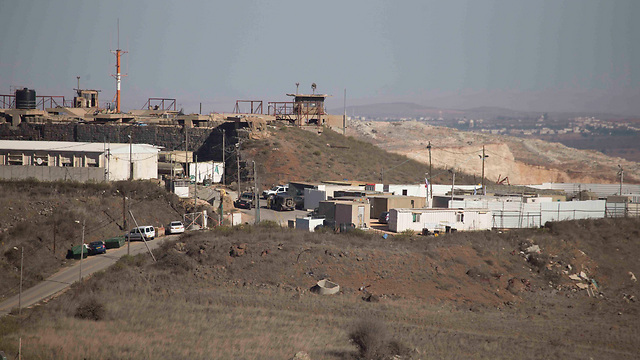Border fence with Syria (Photo: Avihu Shapira)