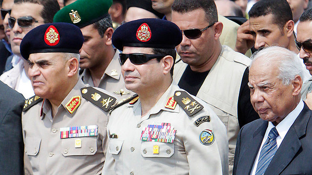 General al-Sisi. No one expected another revolution in such a short time (Photo: Reuters)