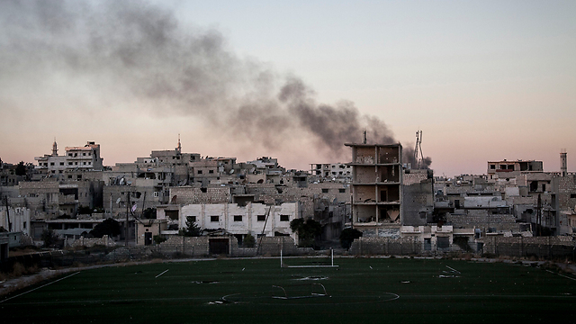 A rebel attack in Syria (Photo: AP)