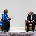 Ashton and Zarif in Geneva Photo: EPA
