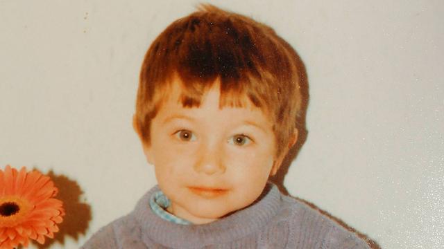 אמינוב בילדותו (צילום: גדי קבלו