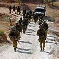 IDF soldiers during Tuesday's operation Photo: Reuters