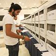 Counting ballots Photo: Ido Erez