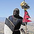 אבירי ממלכת ירושלים. משחזרים קרבות צילום: רפי קוץ
