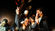 Prisoner release celebrations in Ramallah Photo: Reuters