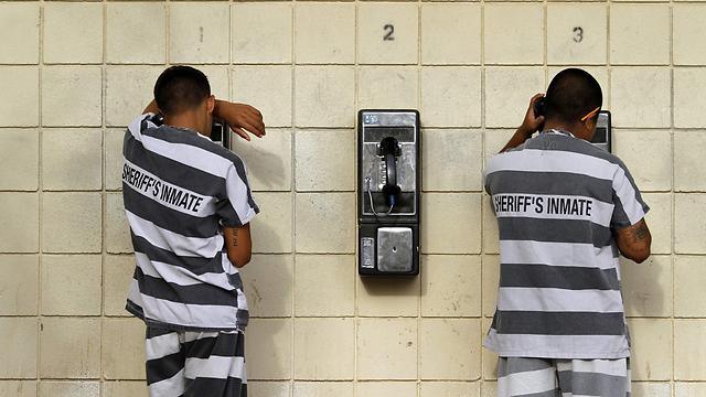 אסירים באריזונה (צילום: רויטרס)