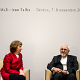Ashton, Zarif in Geneva this week Photo: AFP