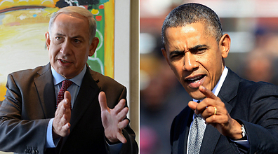 Netanyahu, Obama (Photo: EPA, AFP)
