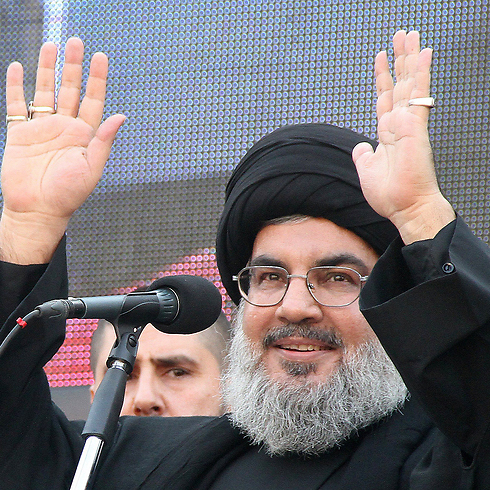 """Hezbollah 's leader, Hassan Nasrallah. """"I do not live in a bunker"""" (Photo: AFP) Photo: AFP"""