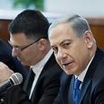 Netanyahu opens intense week of diplomatic meetings Photo: AP