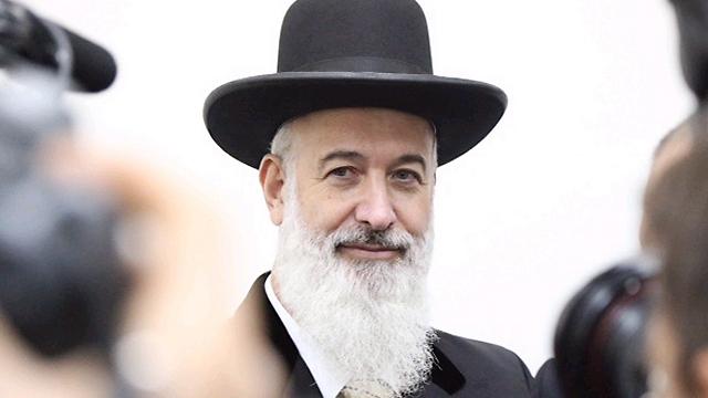 הרב מצגר בדיון לפני כשנה בהארכת מעצרו (צילום: מוטי קמחי)