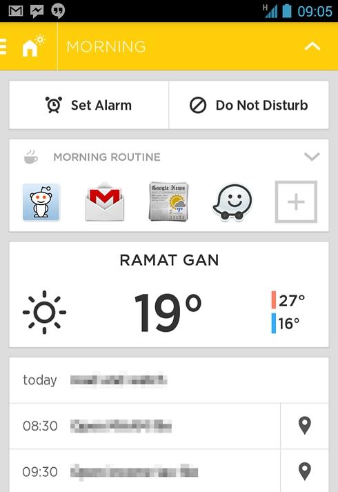 אייביאייט מברך אתכם לבוקר טוב עם מזג אוויר ואפליקציות שימושיות לבוקר ()