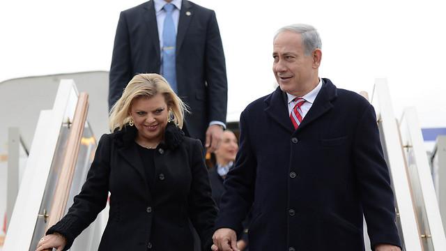 Prime Minister Benjamin Netanyahu and his wife Sarah (Photo: Kobi Gideon, GPO)