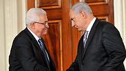 Abbas and Netanyahu Photo: AFP