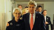 Secretary of State Kerry and Undersecretary Sherman Photo: EPA