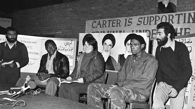 Press conference during 1979 hostage crisis (Photo: AFP) (Photo: AFP)