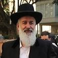Rabbi Yona Metzger Photo: Yaron Brener